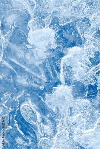 abstract blue ice background