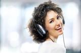 Fototapeta słuchania - muzyka - Mówienie / Śpiew
