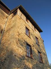 Village de Solignac ; Haute-Vienne ; Limousin