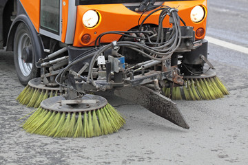 Cleaning of streets