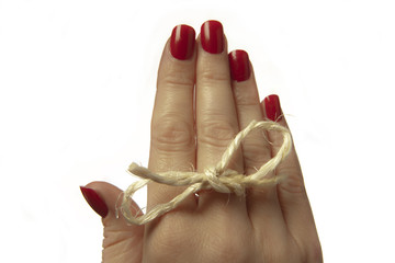 string round finger