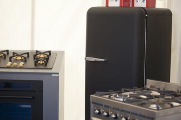 Cucina e frigorifero