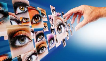 Occhio interattivo