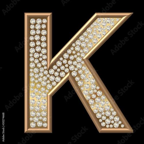 India Alphabet K Pendants India Alphabet K Pendants