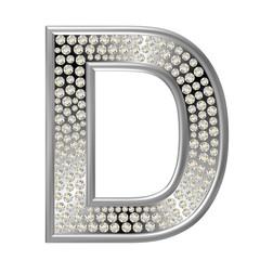 Diamant Buchstabe