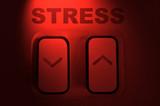 Stress buttons. poster