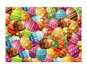 Pasqua sfondo Uovo