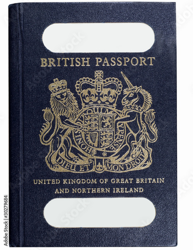 old style british passport