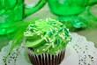 Saint Patricks Day Cupcake