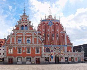 House of the Blackheads, Riga, Latvia.