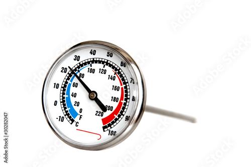 Leinwanddruck Bild culinary thermometer