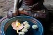 Meditation mit Buddha
