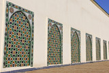 Facade of the Moulay Ismail Mausoleum in Meknes poster