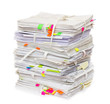 Pile of official papers