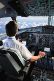 Fototapety pilote d'avion