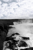 giant waves crashing on burren cliffs