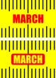march on tape