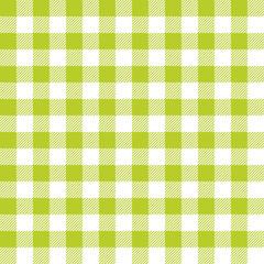 Seamless Pattern Green Check
