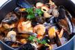 Mediterranean style tomato seafood soup (10).