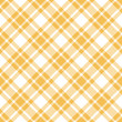Seamless Pattern Orange Check Diagonal