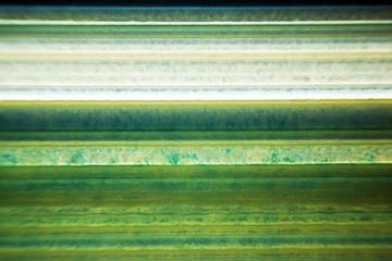 Mikrofoto einer Achatscheibe im Durchlicht
