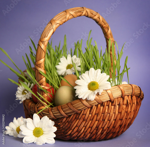 meadow in basket