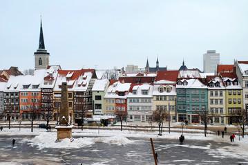 Straße in Erfurt
