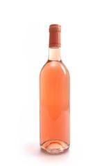 bouteille de rosé seule