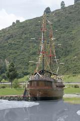 Barco pirata de vela