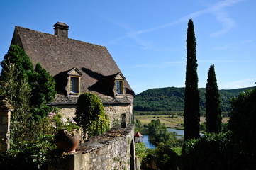 Peaceful County house in Beynac