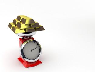bilancia+oro