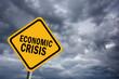 Economic crisis sign