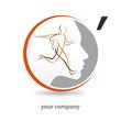 logo entreprise, course, soin visage