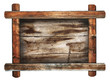 retro wooden frame