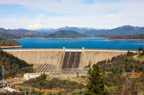 Keuken foto achterwand Dam Shasta Dam