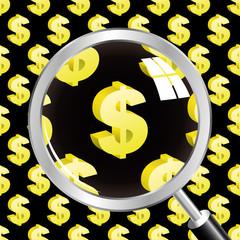 Dollar. Vector illustration.