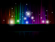 Disco colorful background