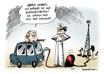 Merkel fordert Gaddafi-Rücktritt