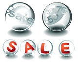 Sale glass spheres