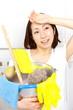Cleaning of bathroom/バスルームの掃除