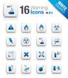 White Squares - warning icons 01