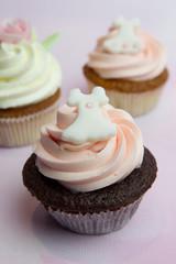 Cupcake mit Brautkleid