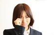 crying business woman/悲しむビジネスウーマン