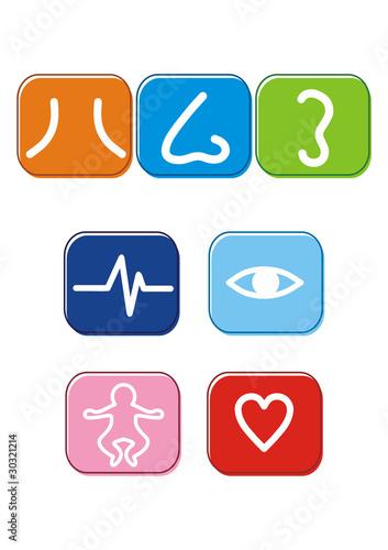 diverse Ärzte Logos