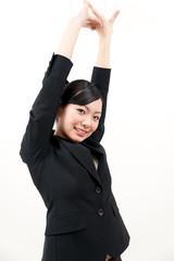 a portrait of beautiful businesswoman