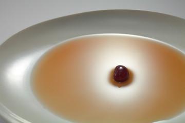 一皿に一粒の豆