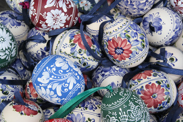 Hand painted Easter eggs from Budapest