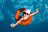 Fototapety Child Swimming