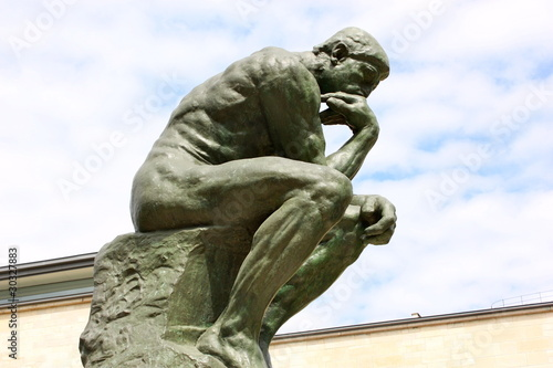 """The Thinker"", sculpture of Auguste Rodin"