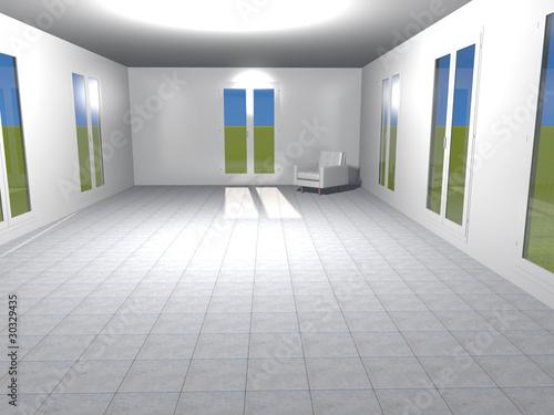 Arredamento minimalista di gennaro guarino foto stock for Arredamento minimalista significato